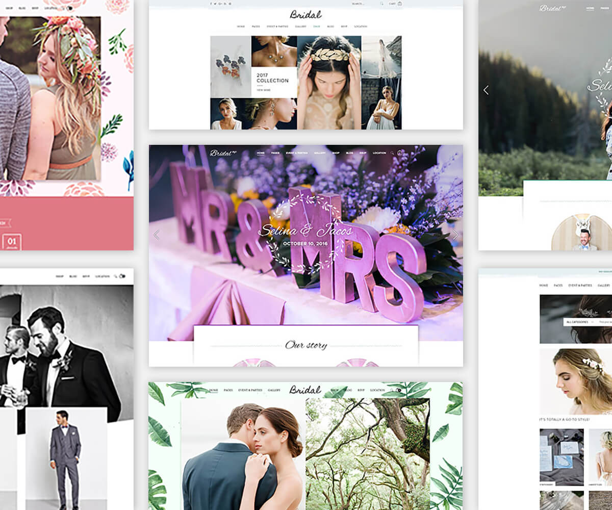 BRIDAL – Sectioned Responsive Shopify Theme/ Multipurpose For Wedding & Couple