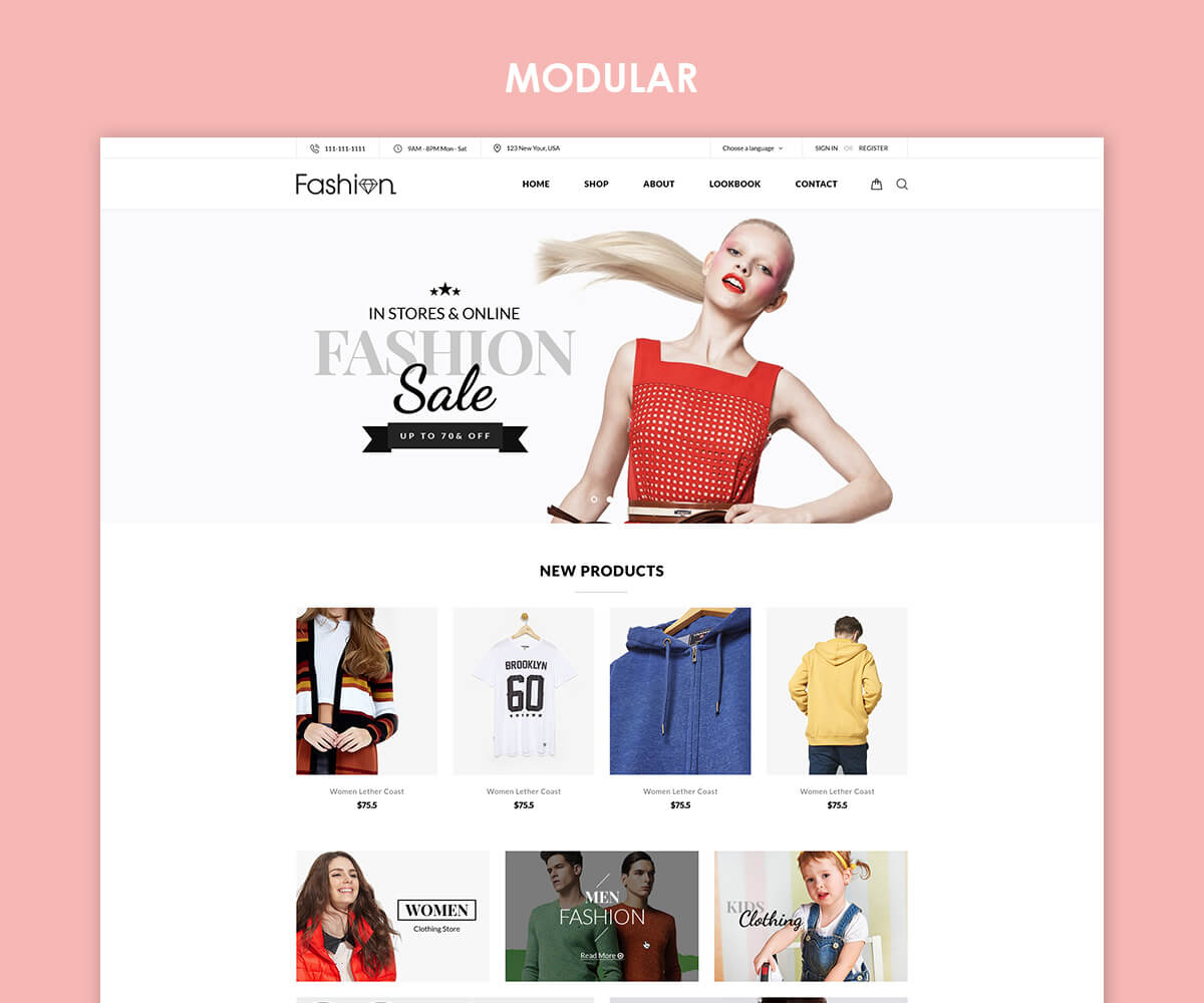 MODULAR Premium – Sectioned Responsive Shopify Template