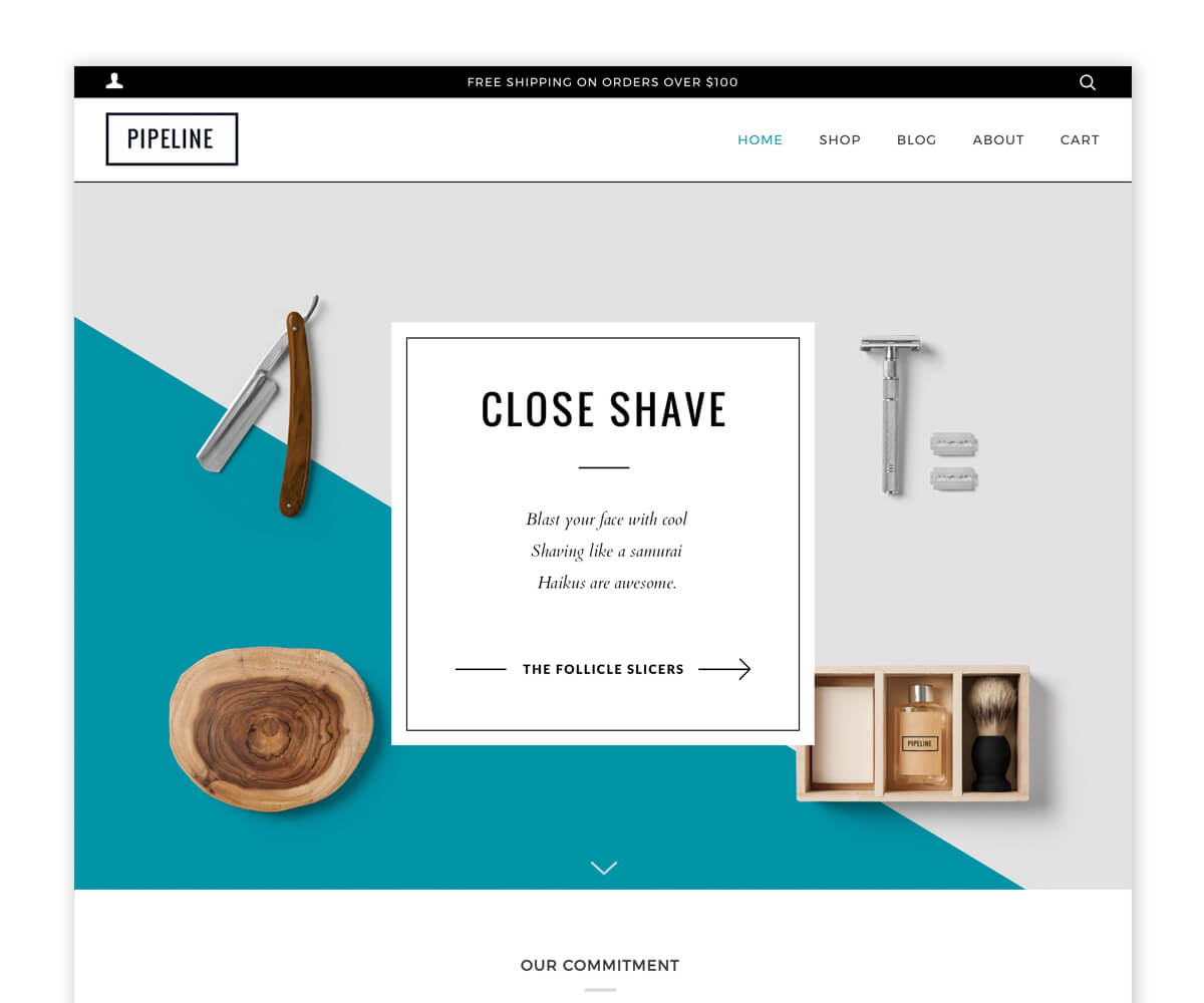 PIPELINE – Theme For Online Fashion Store