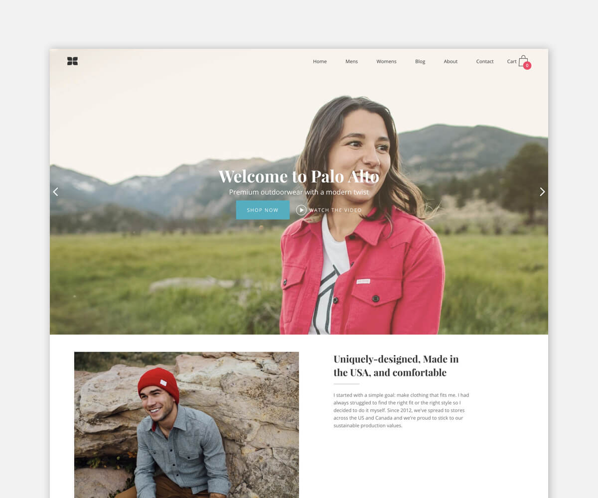 PALO ALTO – Theme For Online Fashion And Cosmetic Store