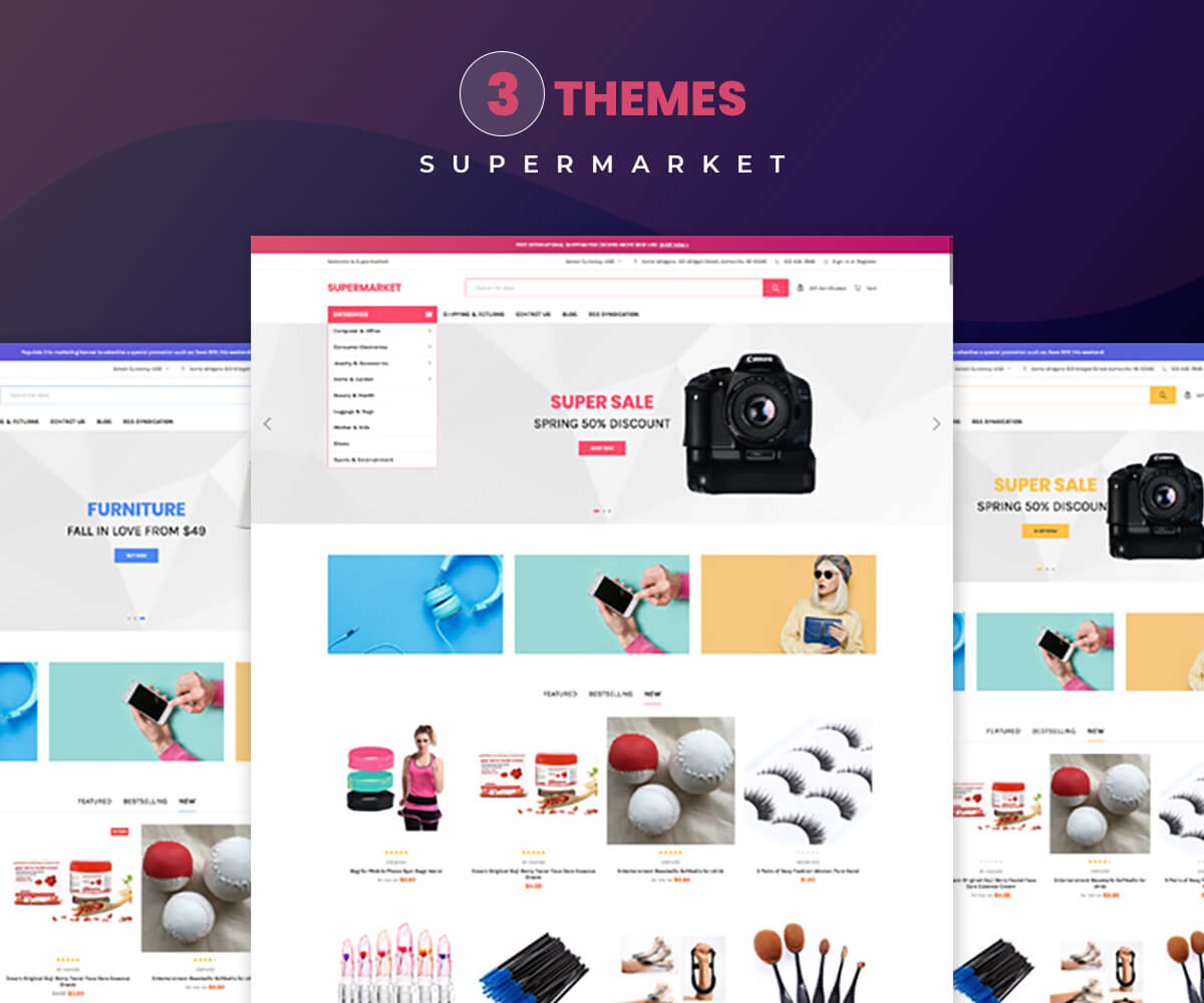 SUPERMARKET- Large Store Shopify Template