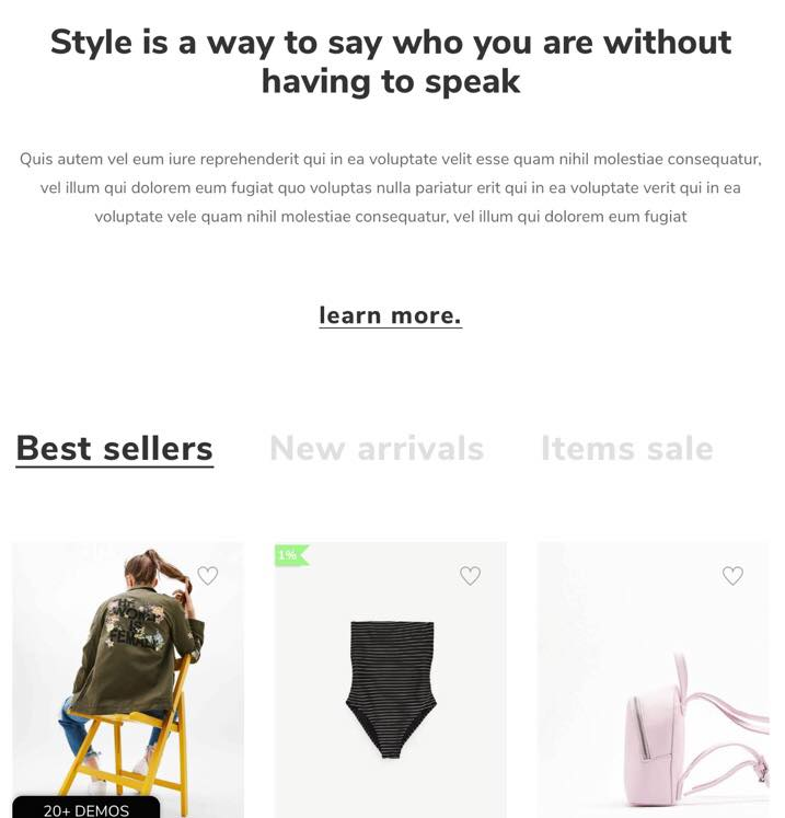 April Shopify Best Tab