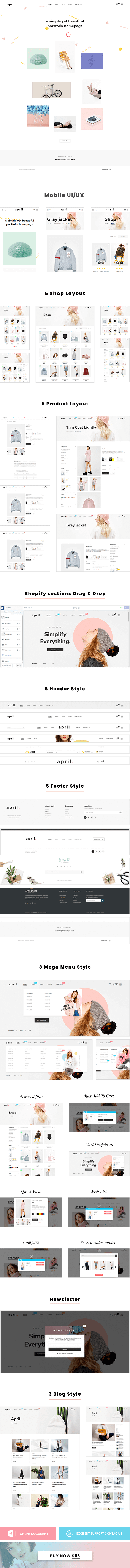 APRIL-19 - Great idea for portfolio homepage
