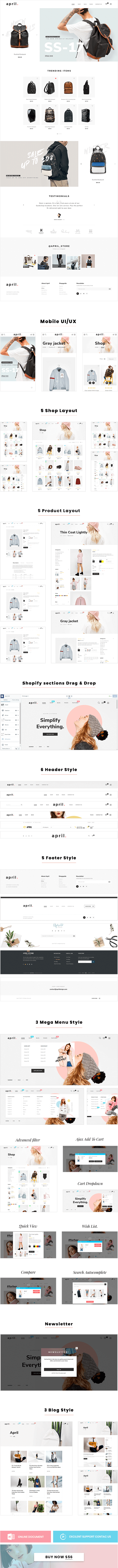 APRIL-09 - Classic theme for backpack store online