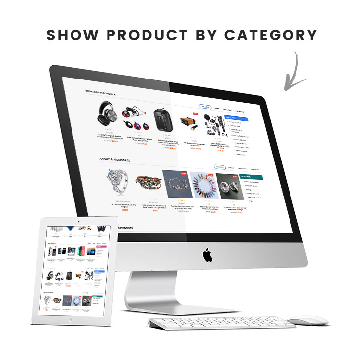 show products by category in Shopify
